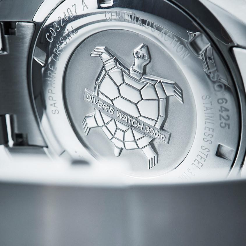 Certina schildpad-embleem