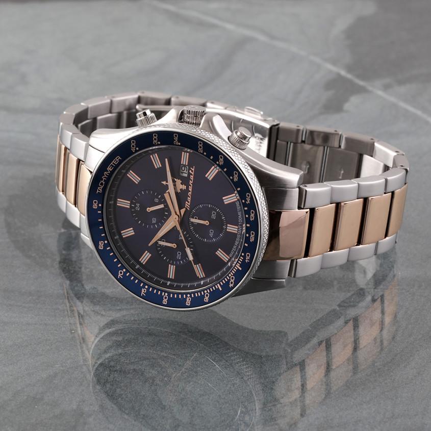 Maserati Sfida R8873640012 chronograaf met 3 subdials