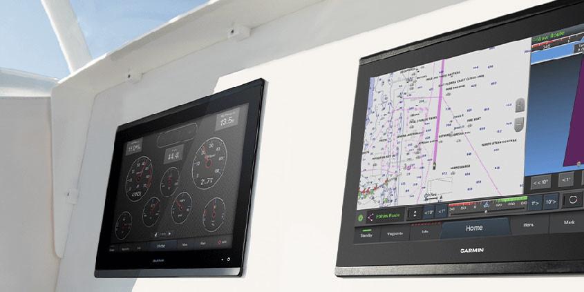 Garmin Autopilot systeem voor schepen