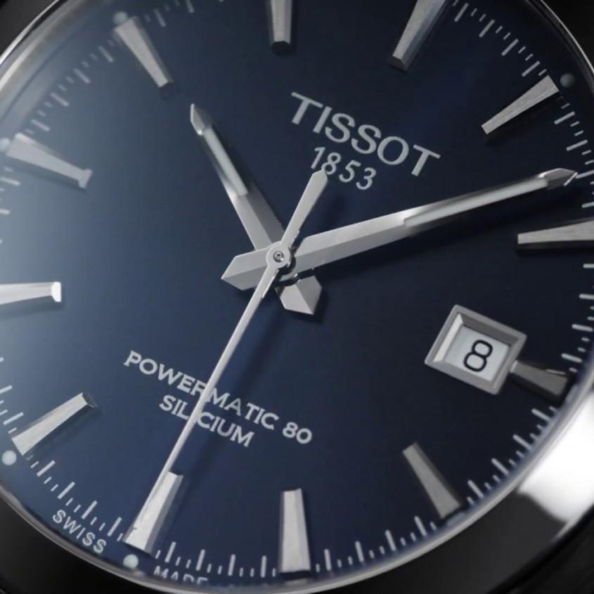 Foto Tissot Powermatic 80 silicum horloge