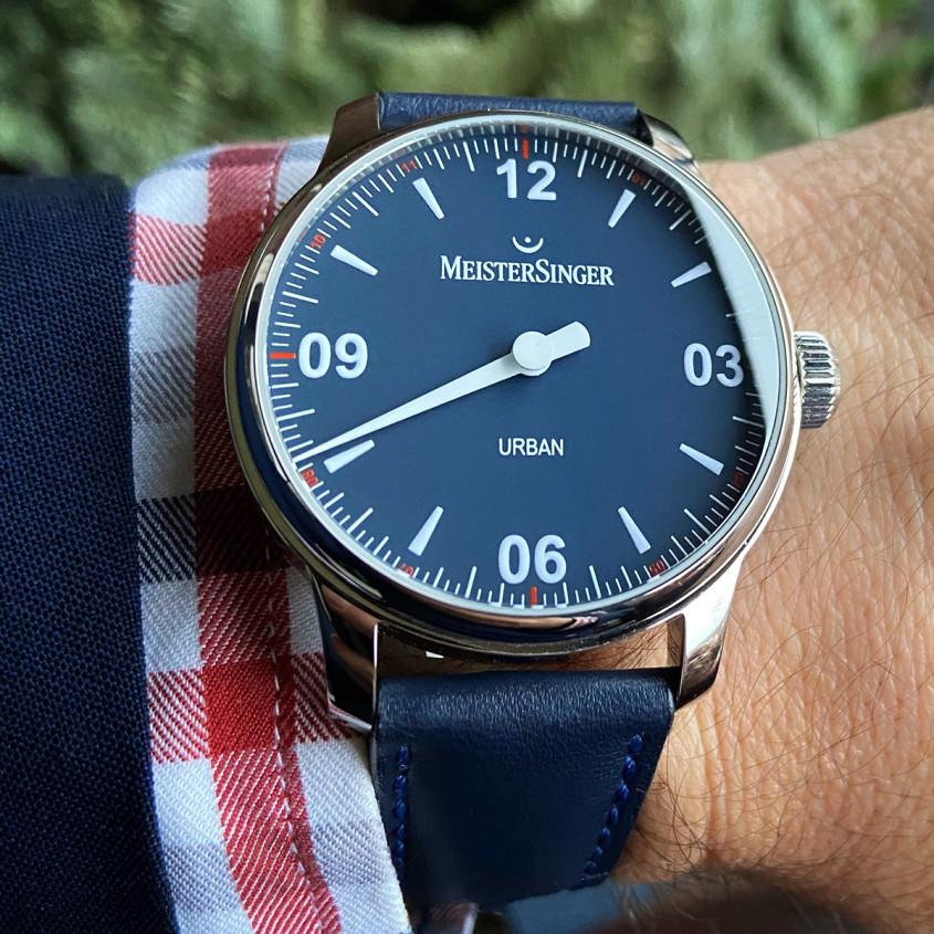 Foto Meistersinger Urban horloge
