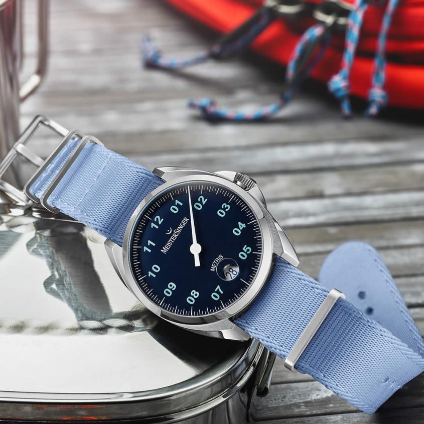 Foto Meistersinger Metris horloge
