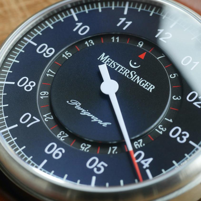 Foto Meistersinger Perigraph horloge