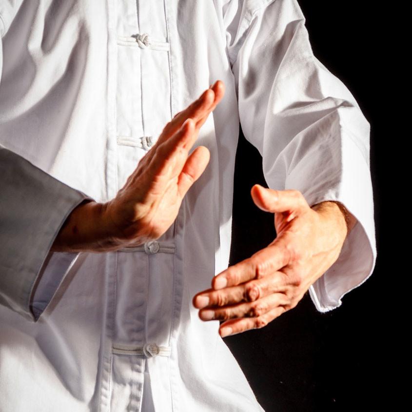 Foto Tai chi oefening