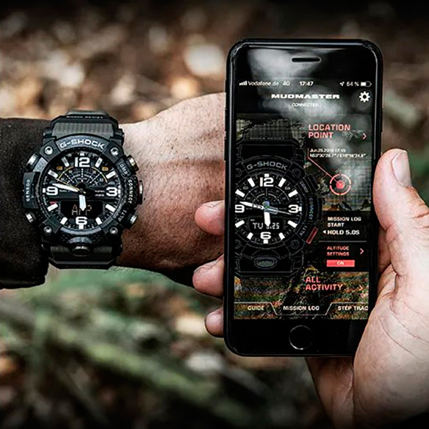 Foto Bluetooth horloge