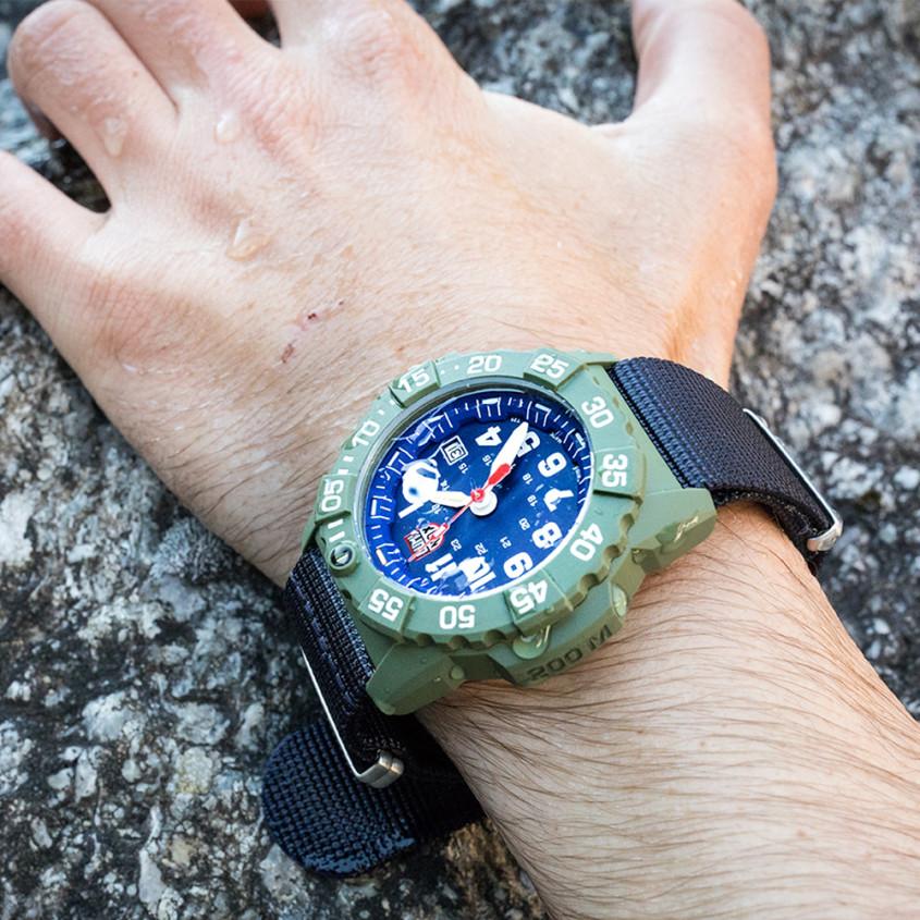 Foto Luminox Navy Seal horloge