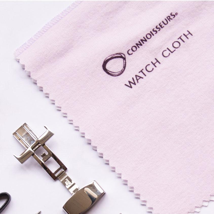 Foto Speciale poetsdoek voor horloges