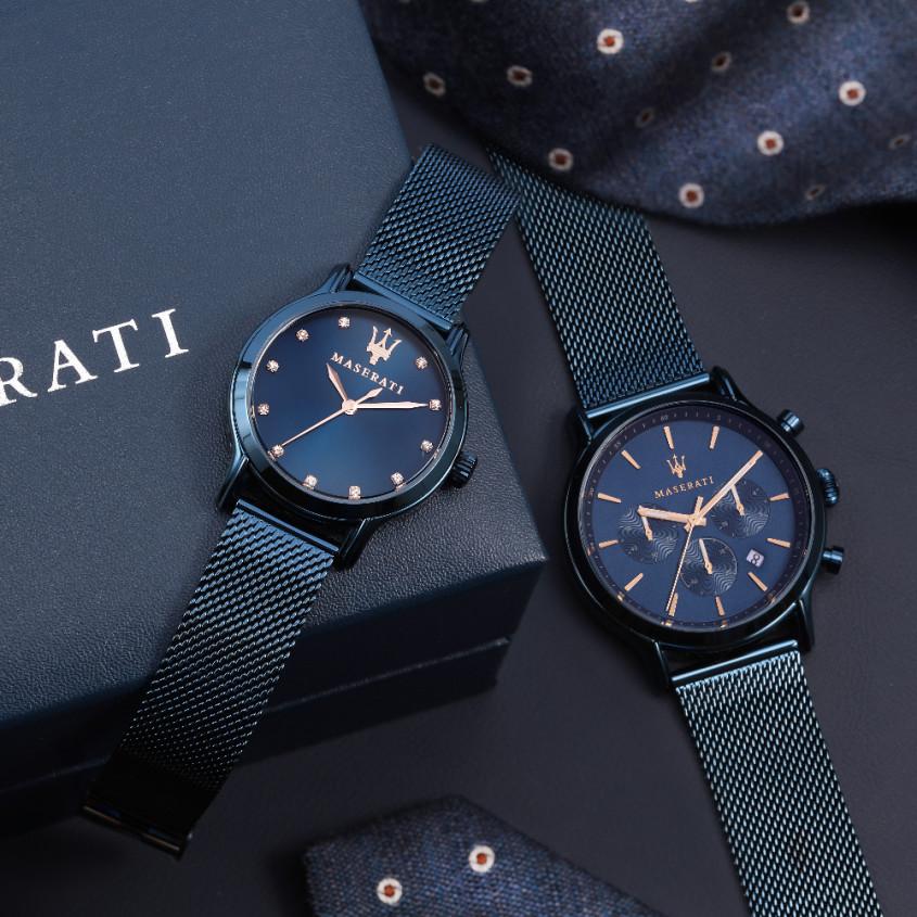 Maserati horloge cadeauset