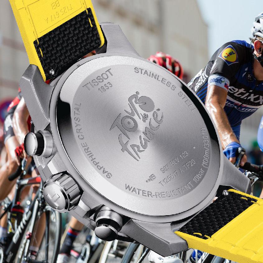 Foto Tissot horloge met Tour de France logo