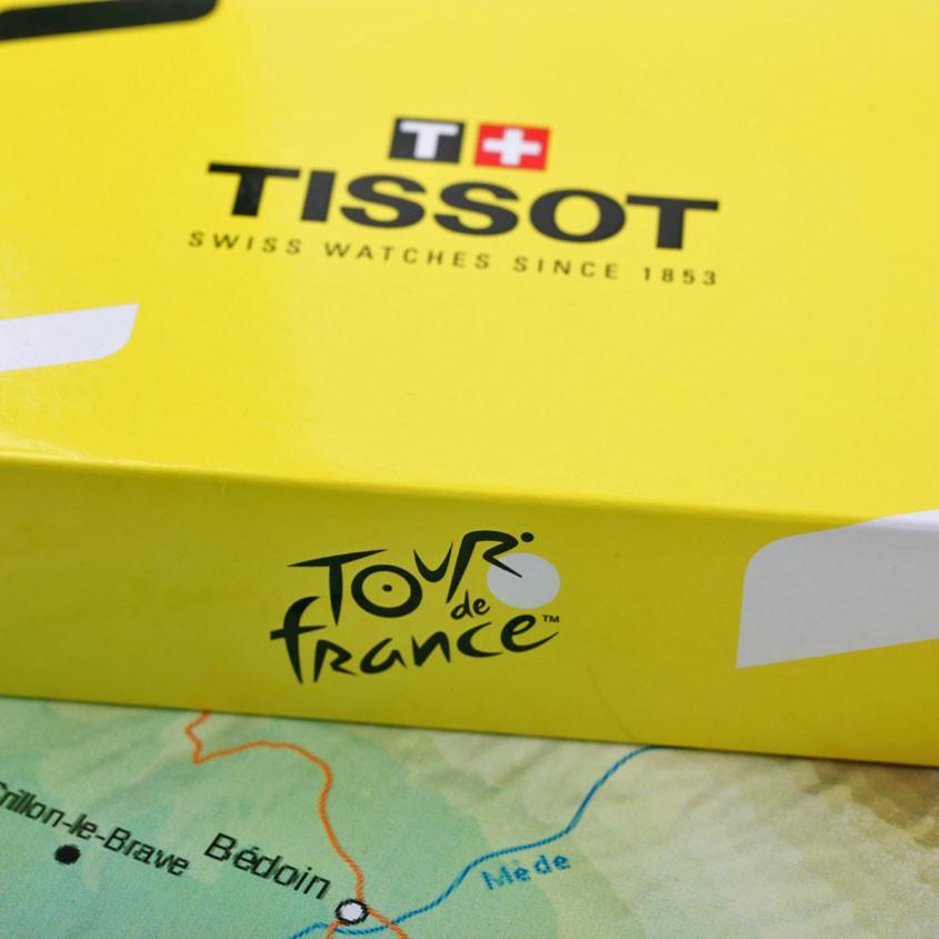 Foto verpakking Tissot Tour de France horloge