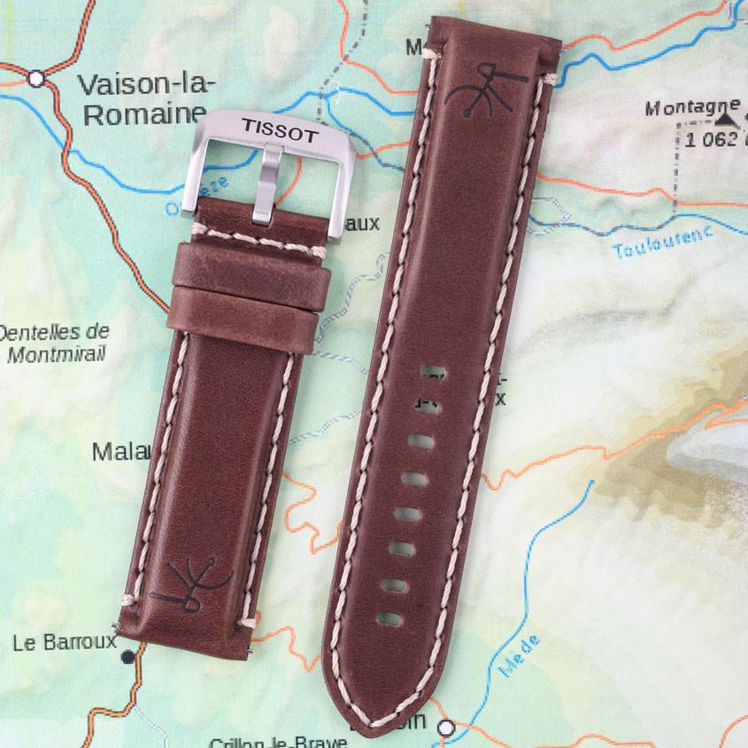 Foto extra band Tissot tour de France horloge