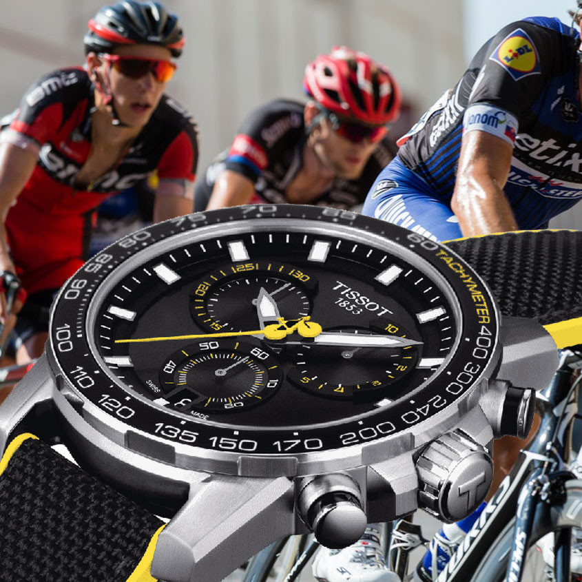 Foto Tissot Tour de France chronograaf