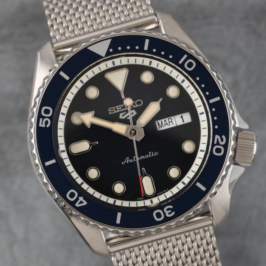 Foto Seiko 5 sports horloge