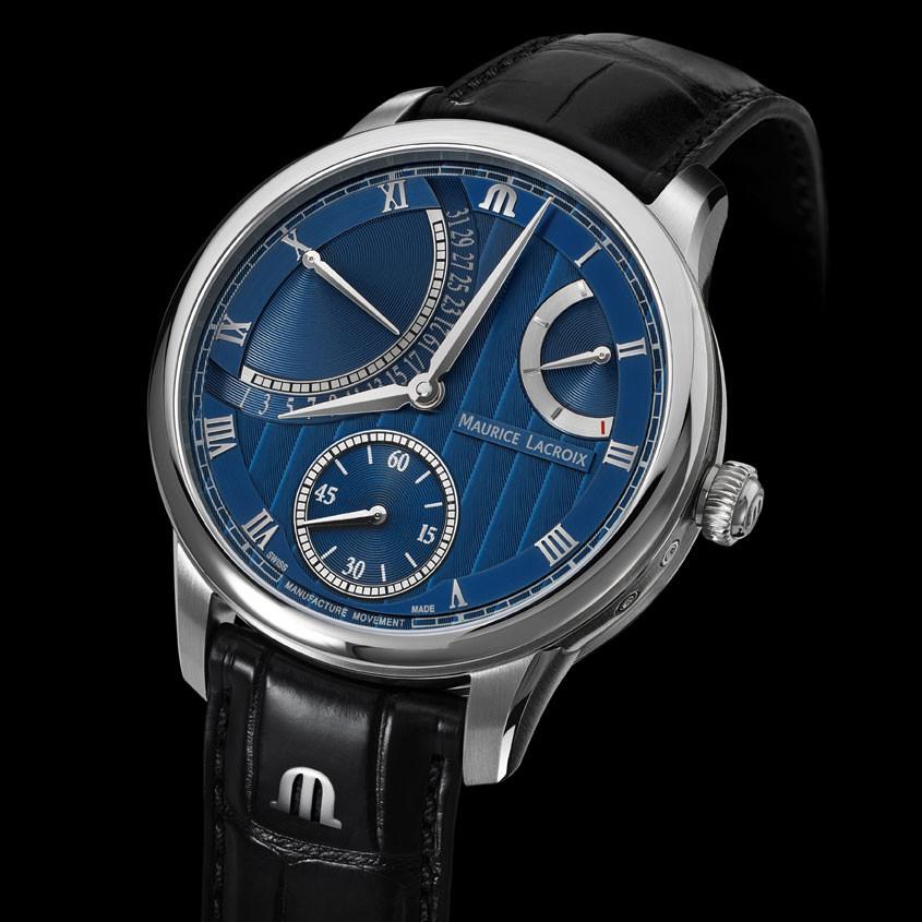 Foto Maurice Lacroix Masterpiece Retrograde horloge