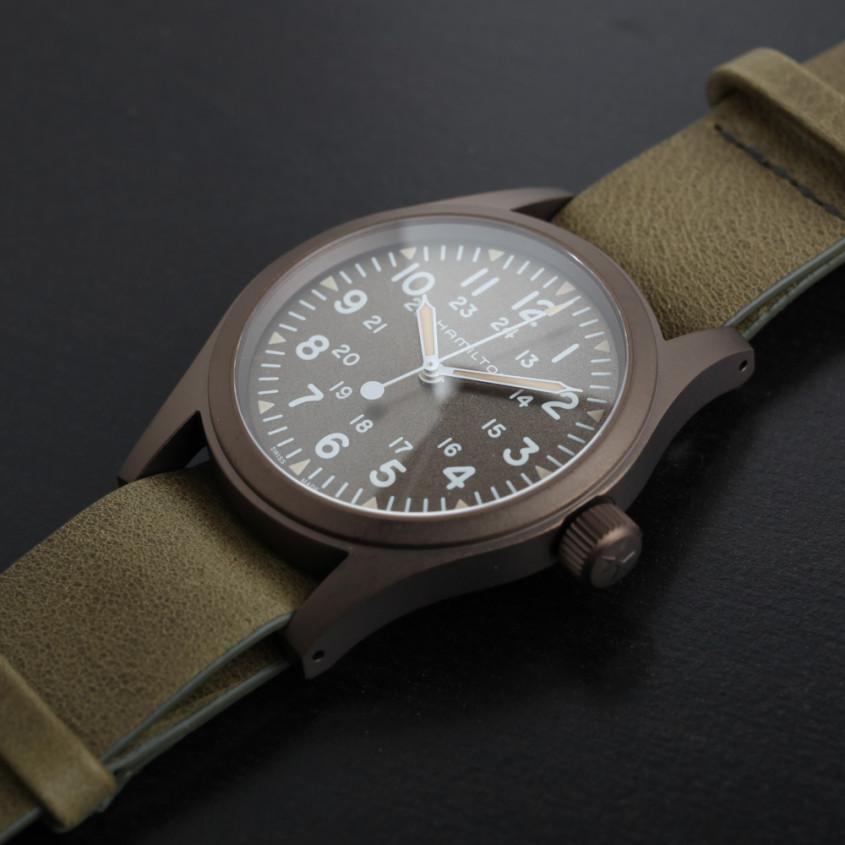 Foto Hamilton Khaki Field horloge